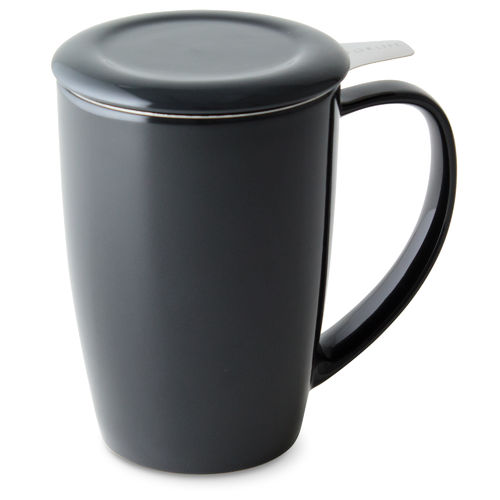 Tall Tea Mug, black