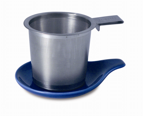 Tea Infuser & dish set, marine