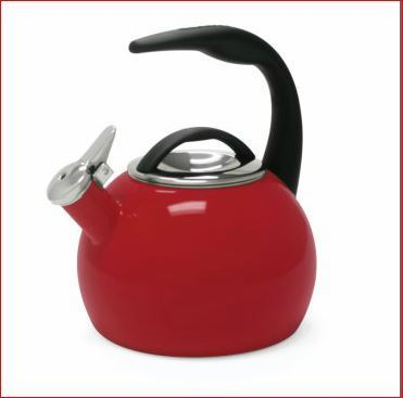 Enamel-On-Steel Teakettle
