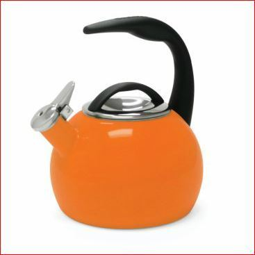 Enamel On Steel  Teakettle