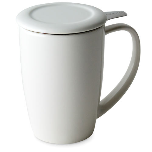 Tall Tea Mug, white