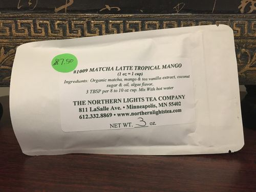Matcha Latte Tropical Mango (1 unit = 3 oz)