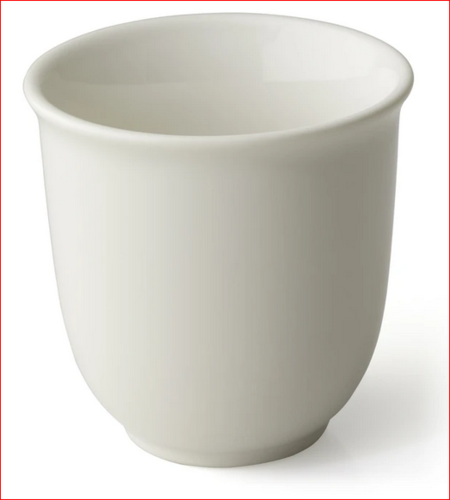 White Japanese Tea Cup
